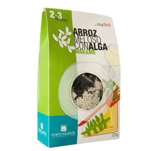 Arroz-meloso-alga-wakame-PortoMuinos