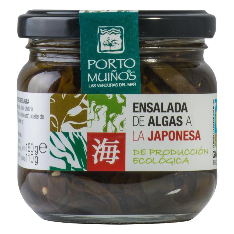 Portomuiños Ensalada de algas a la japonesa