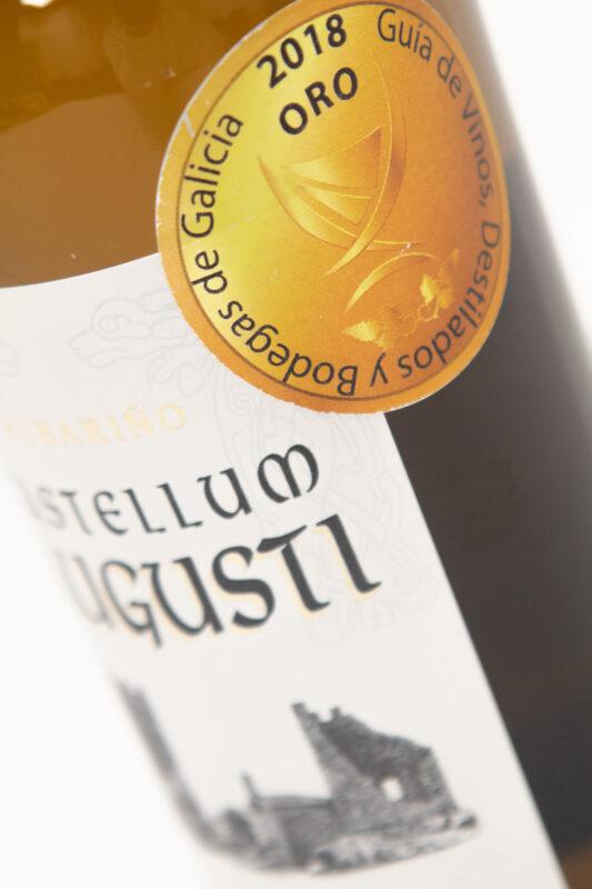 Vino Blanco Castellum Medalla oro 2018