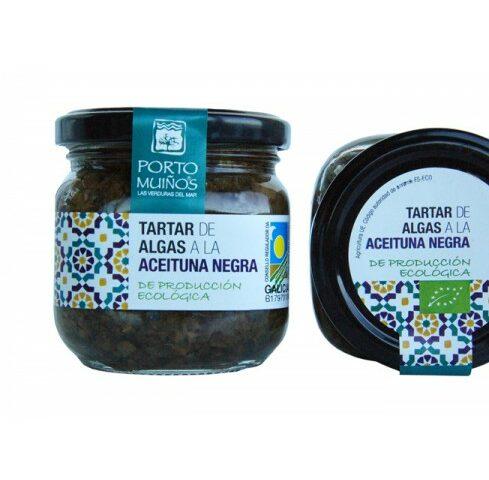 Tartar de Algas a la Aceituna Negra